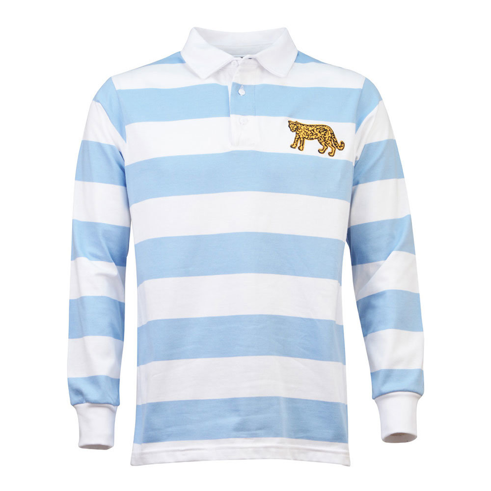 Argentine 1985 Maillot Rétro Rugby