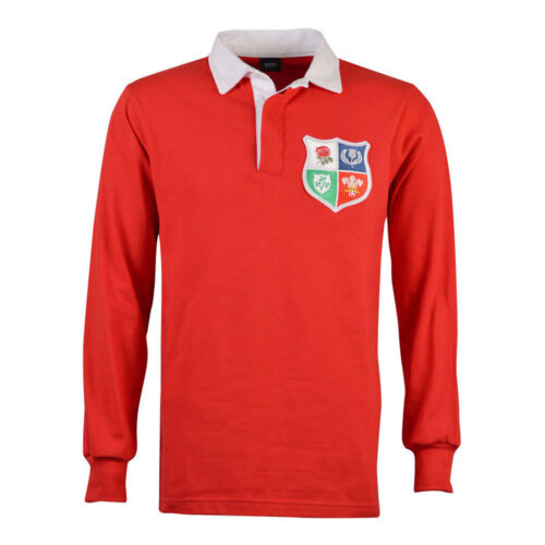 British and Irish Lions 1971 Retro Rugby Shirt