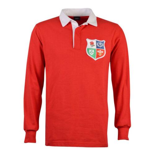 British and Irish Lions 1971 Retro Rugby Shirt
