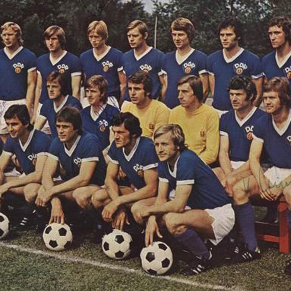DDR 1974 Maglia Storica Calcio