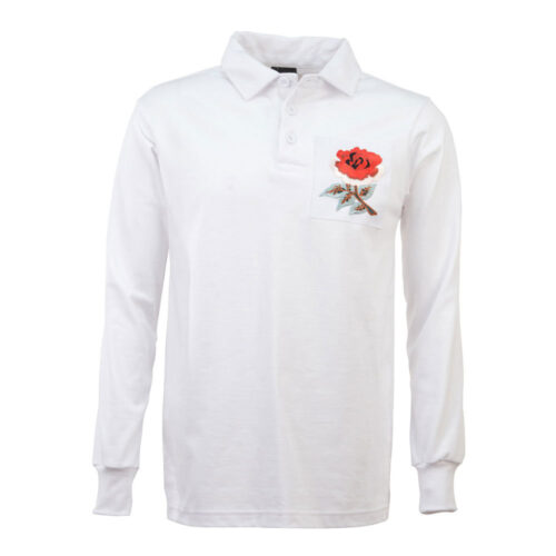Angleterre 1914 Maillot Rétro Rugby
