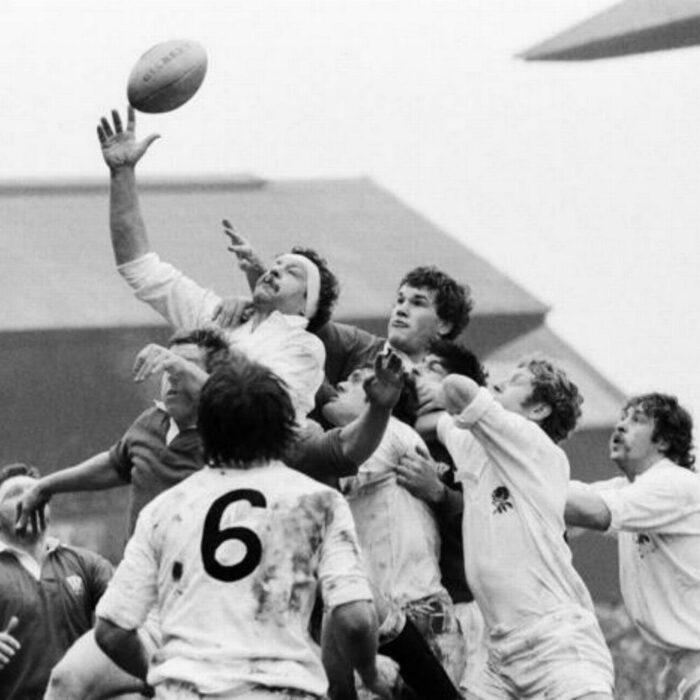 Inghilterra 1980 Maglia Storica Rugby