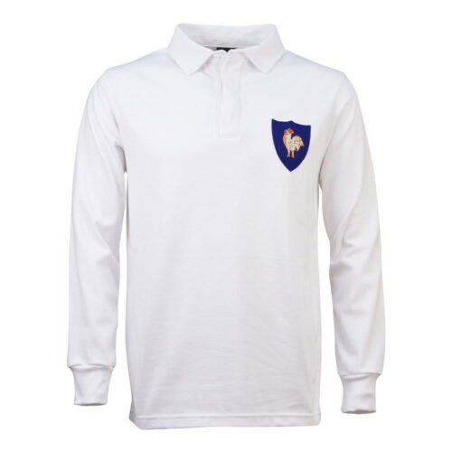 France 1968 Retro Rugby Shirt