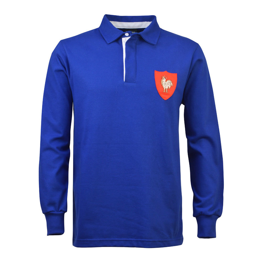 France 1977 Retro Rugby Shirt