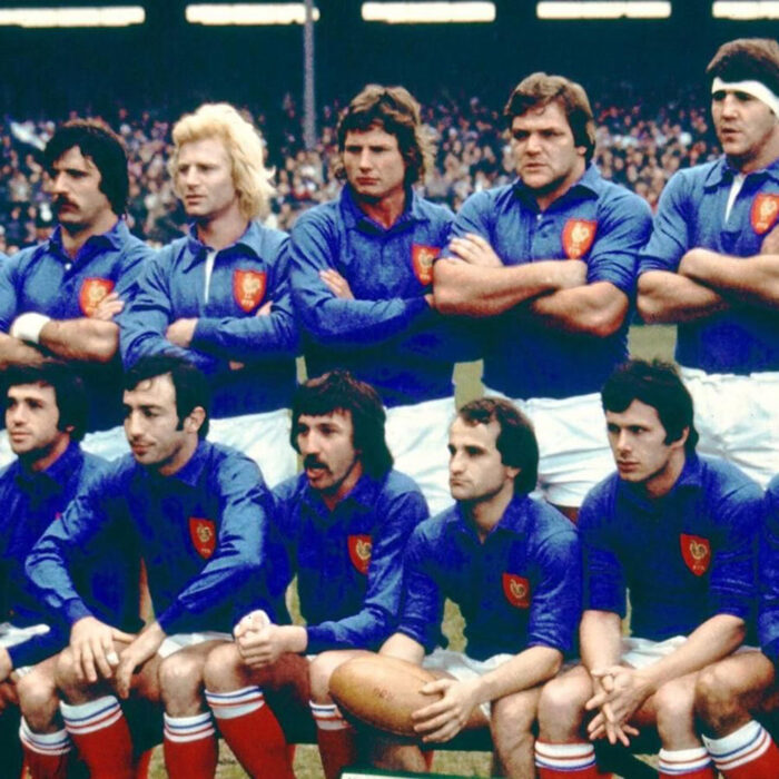 Francia 1977 Maglia Storica Rugby