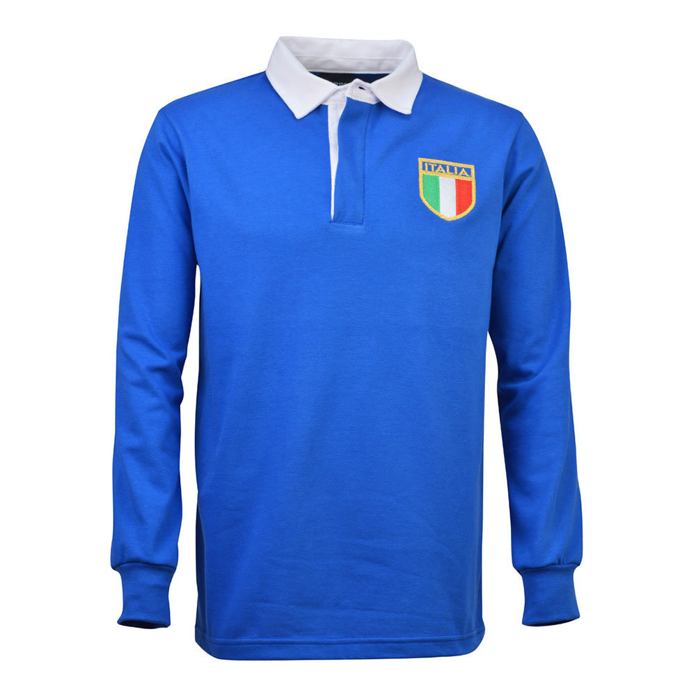 Italie 1968 Maillot Rétro Rugby