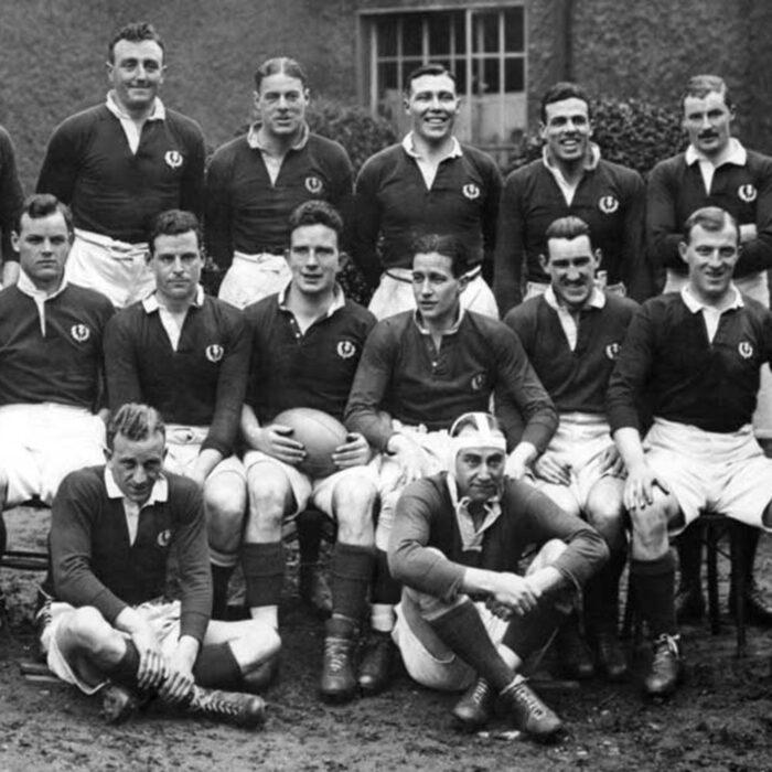 Scozia 1925 Maglia Storica Rugby