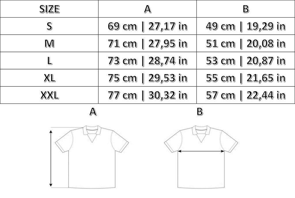 Taglie T-shirts Lifestyle Okawa