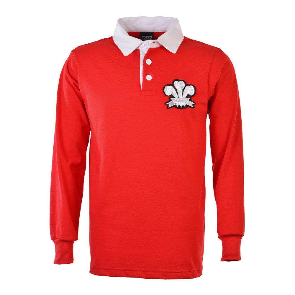 Pays de Galles 1905 Maillot Rétro Rugby