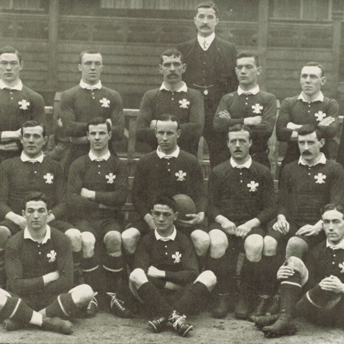 Galles 1905 Maglia Storica Rugby