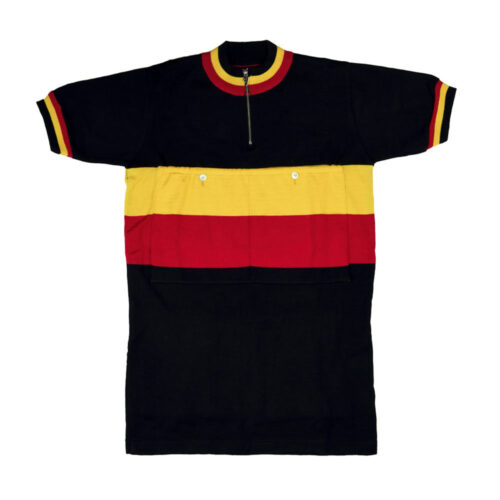 Belgium 1947 Retro Cycling Jersey