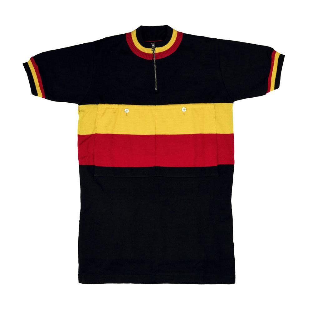Belgica 1947 Maillot Retro Ciclismo
