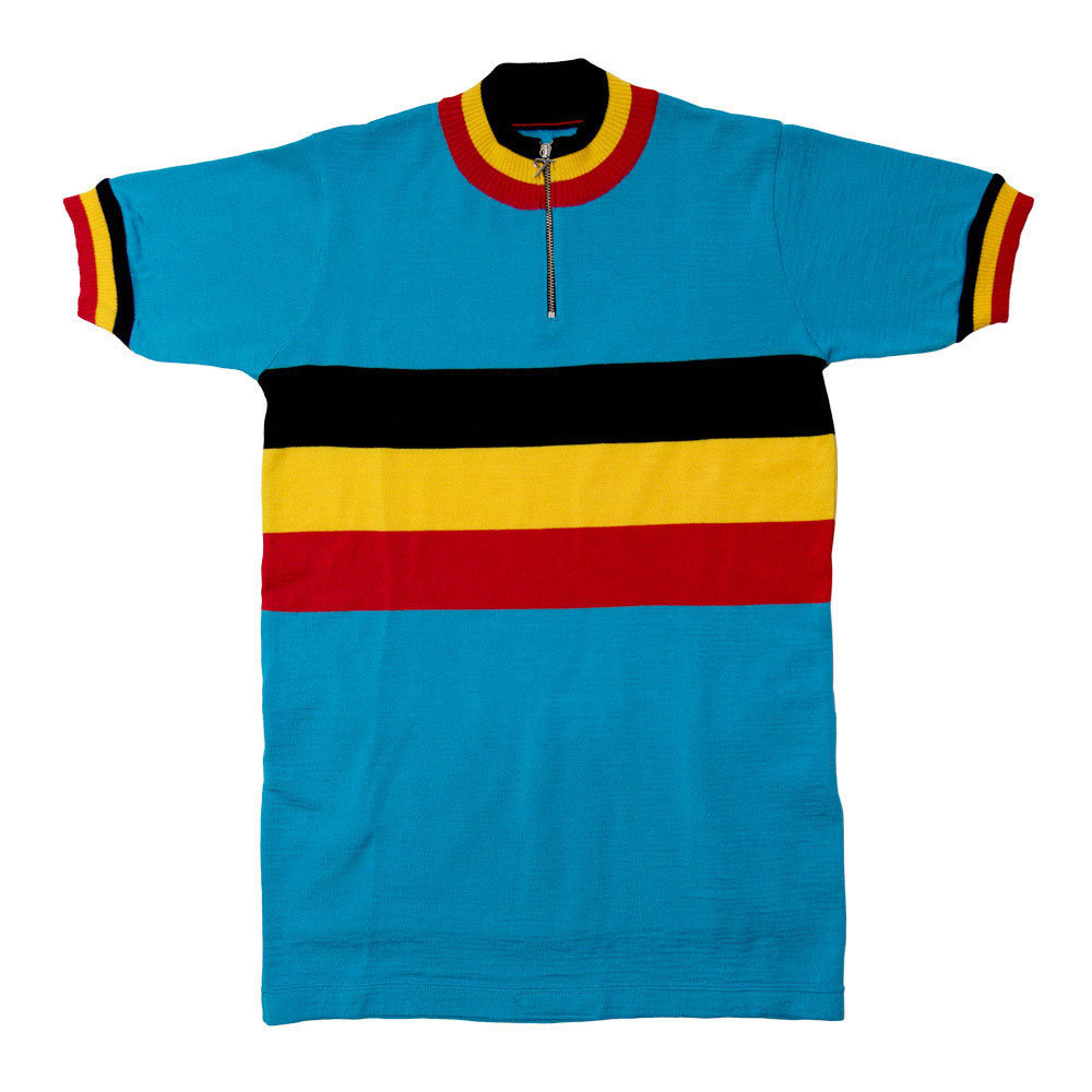 Belgica 1974 Maillot Retro Ciclismo