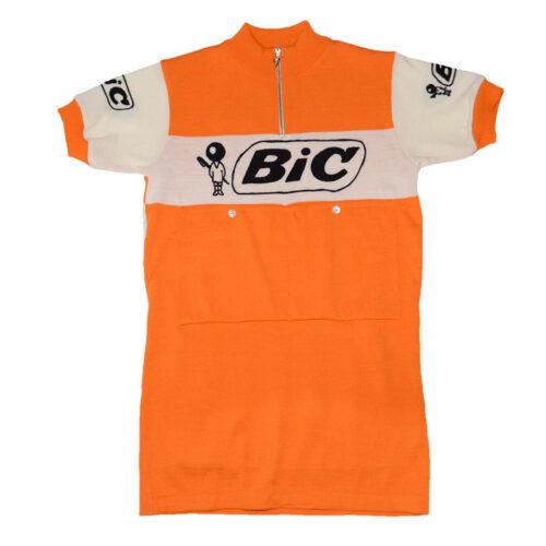 Bic France 1973 Maillot Rétro Cyclisme
