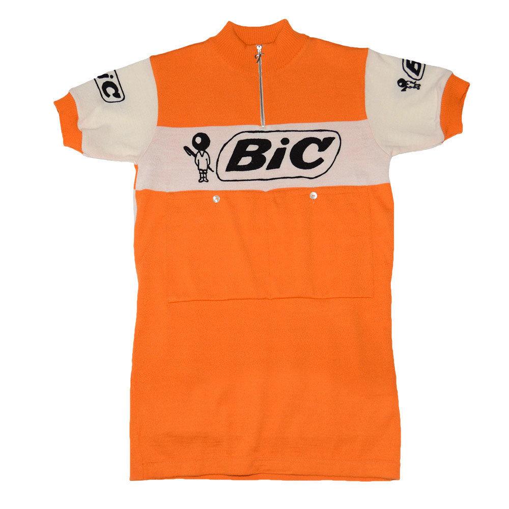 Bic France 1973 Maillot Retro Ciclismo