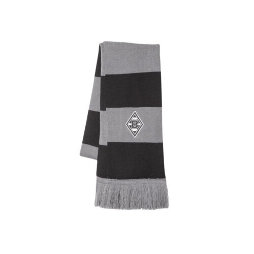BMG Blockstreifen Black Grey Scarf