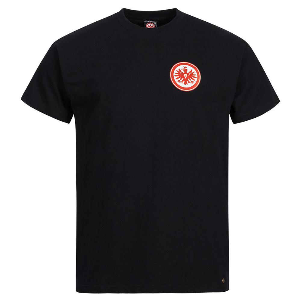 Eintracht Core Schwarz Tee Shirt Casual