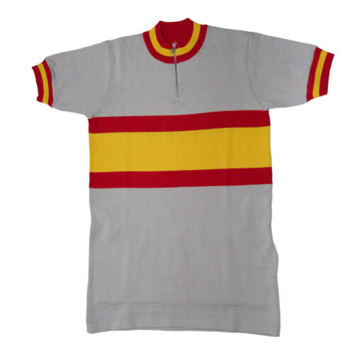 Spain 1973 Retro Cycling Jersey