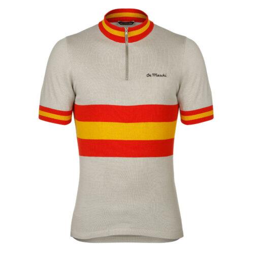 Espagne 1980 Maillot Rétro Cyclisme