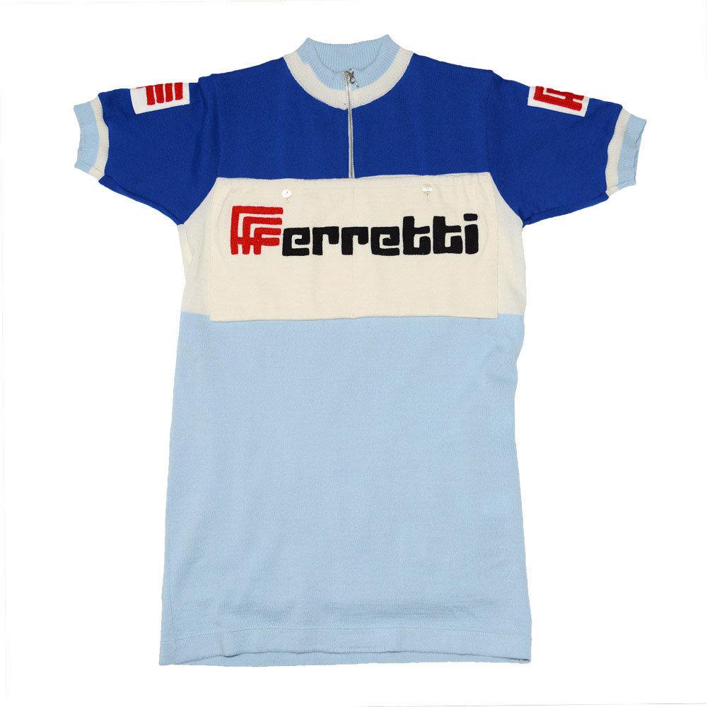 Ferretti 1971 Maillot Retro Ciclismo