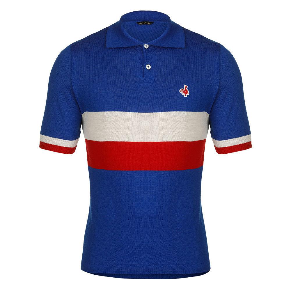47f4d9c50 France 1954 Retro Cycling Jersey - Retro Football Club ®