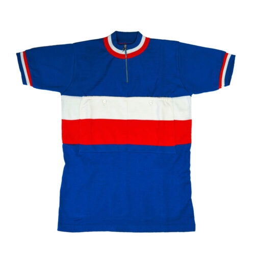 France 1981 Retro Cycling Jersey