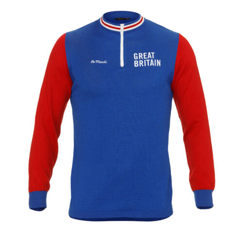 Great Britain 1965 Retro Cycling Jersey