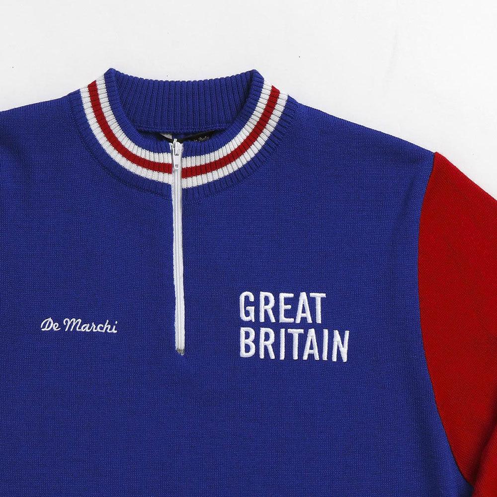Gran Bretagna 1965 Maglia Storica Ciclismo
