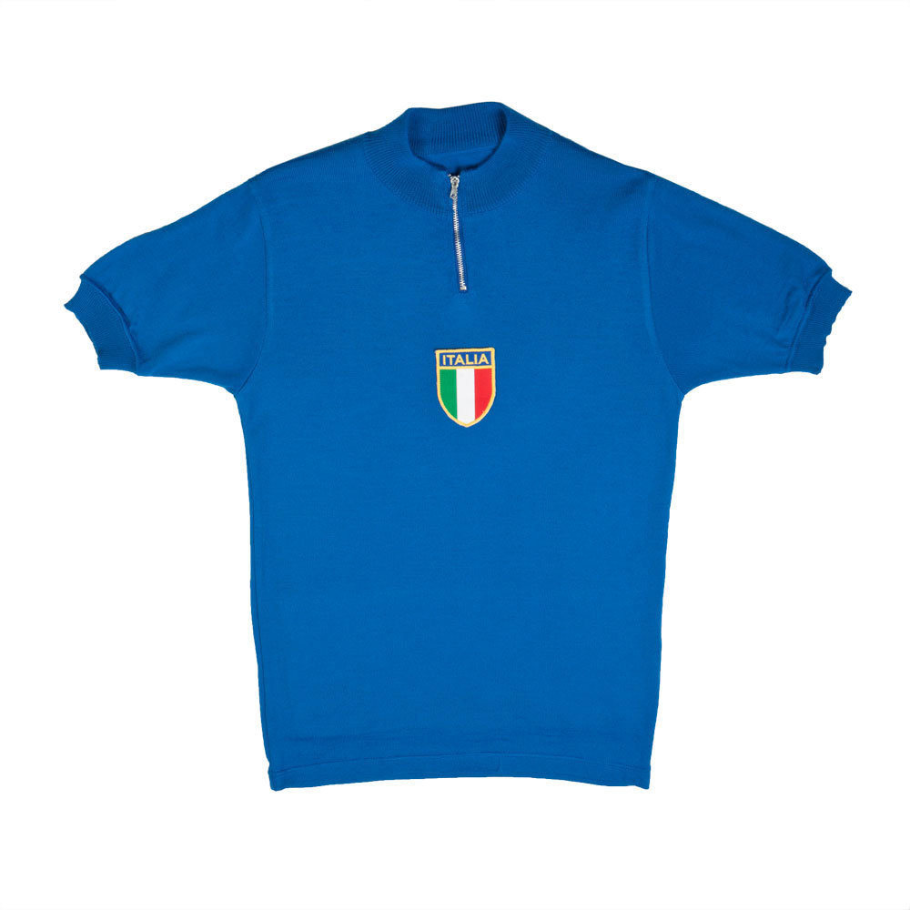 Italia 1977 Maillot Retro Ciclismo