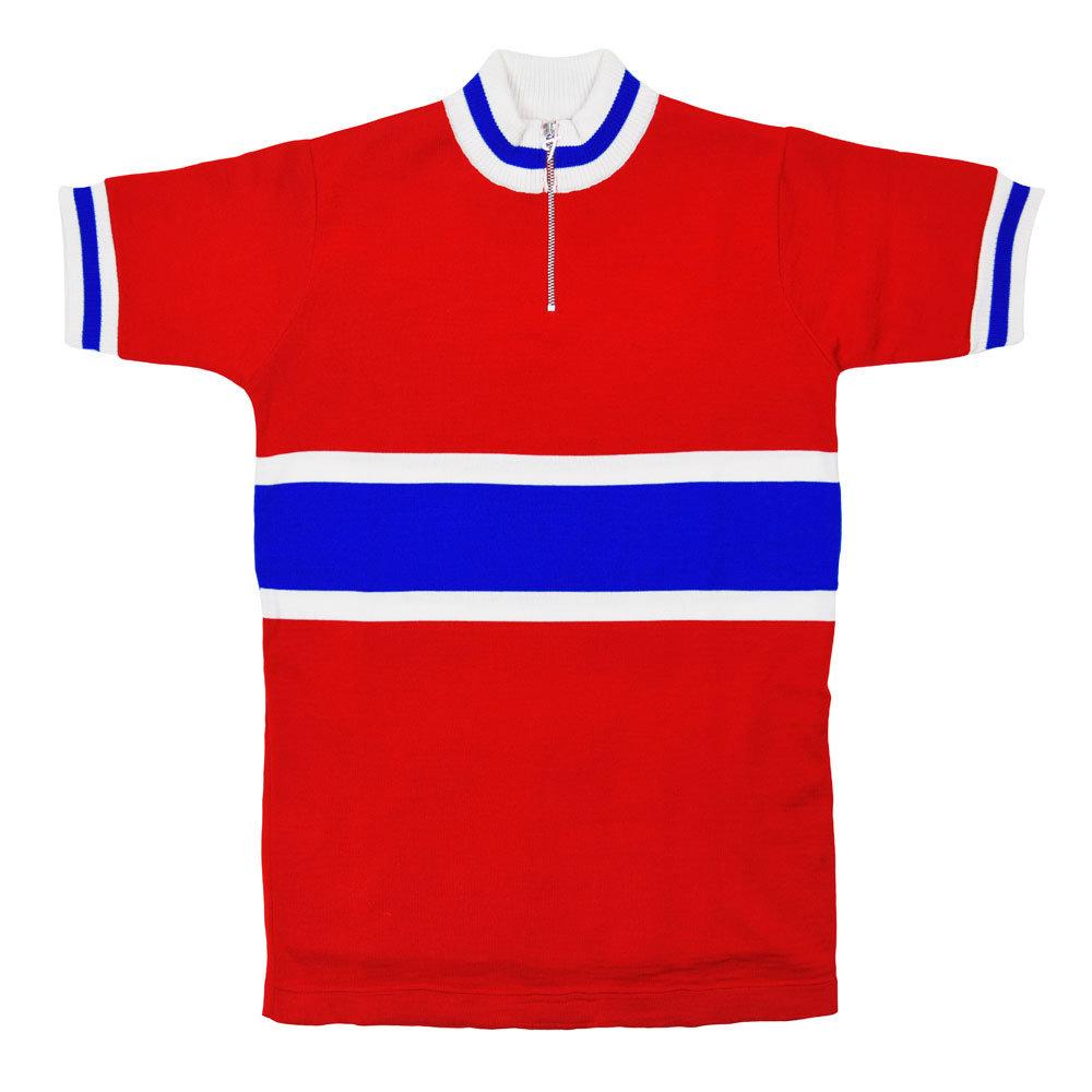 Norvegia 1975 Maglia Storica Ciclismo