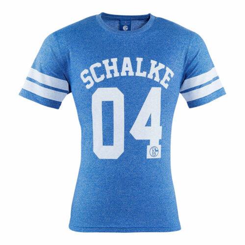 Schalke 04 College Tee Shirt Casual