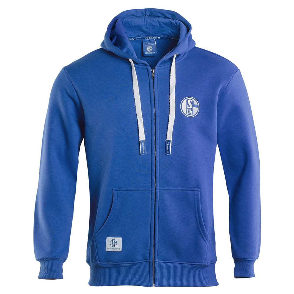 Schalke 04 Konigsblau Giacca Tuta Casual