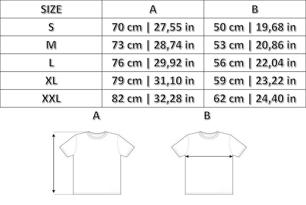 Taglie T-shirts Borussia Mönchengladbach