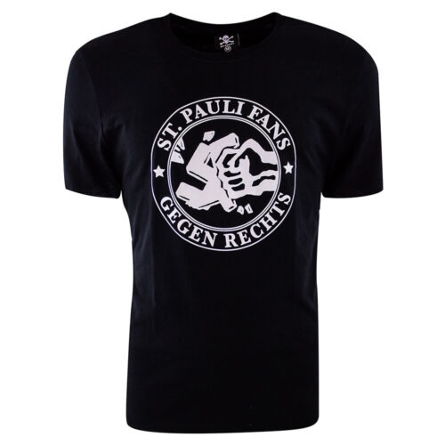 St Pauli Gegen Rechts Casual T-shirt