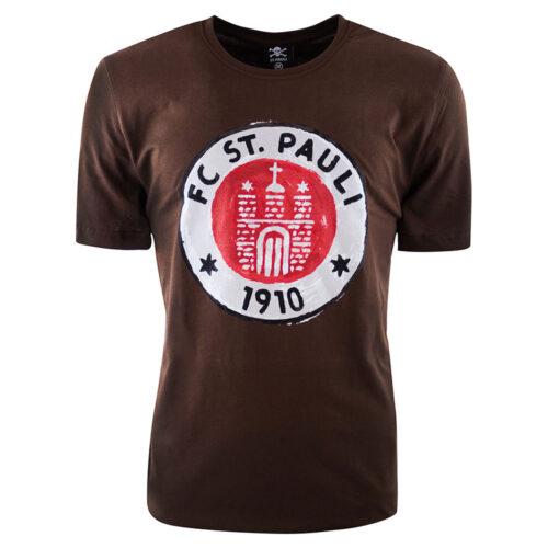 St Pauli Logo Paint Casual T-shirt