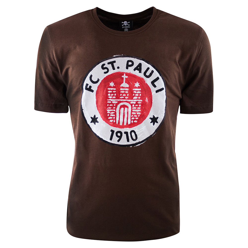 St Pauli Logo Paint Casual T-shirt