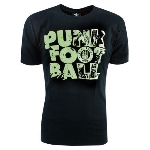 St Pauli Punk Football Casual T-shirt