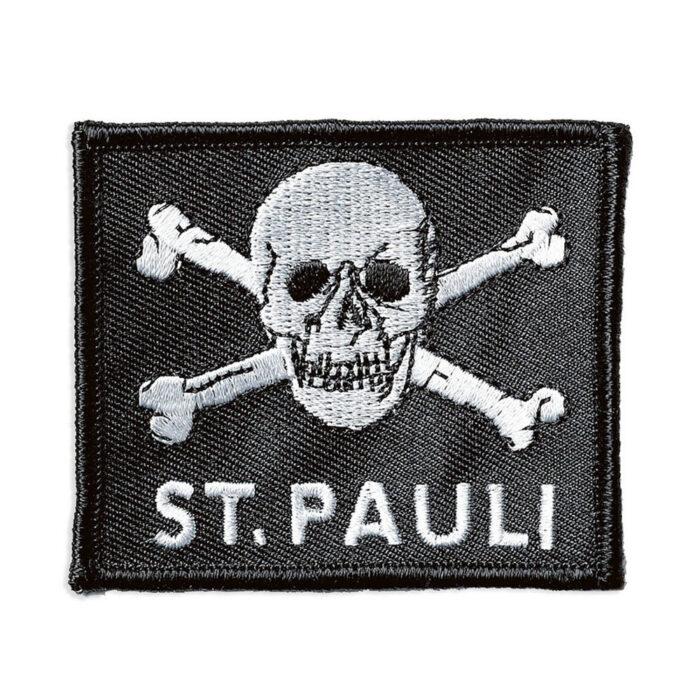 St Pauli Totenkopf Toppa