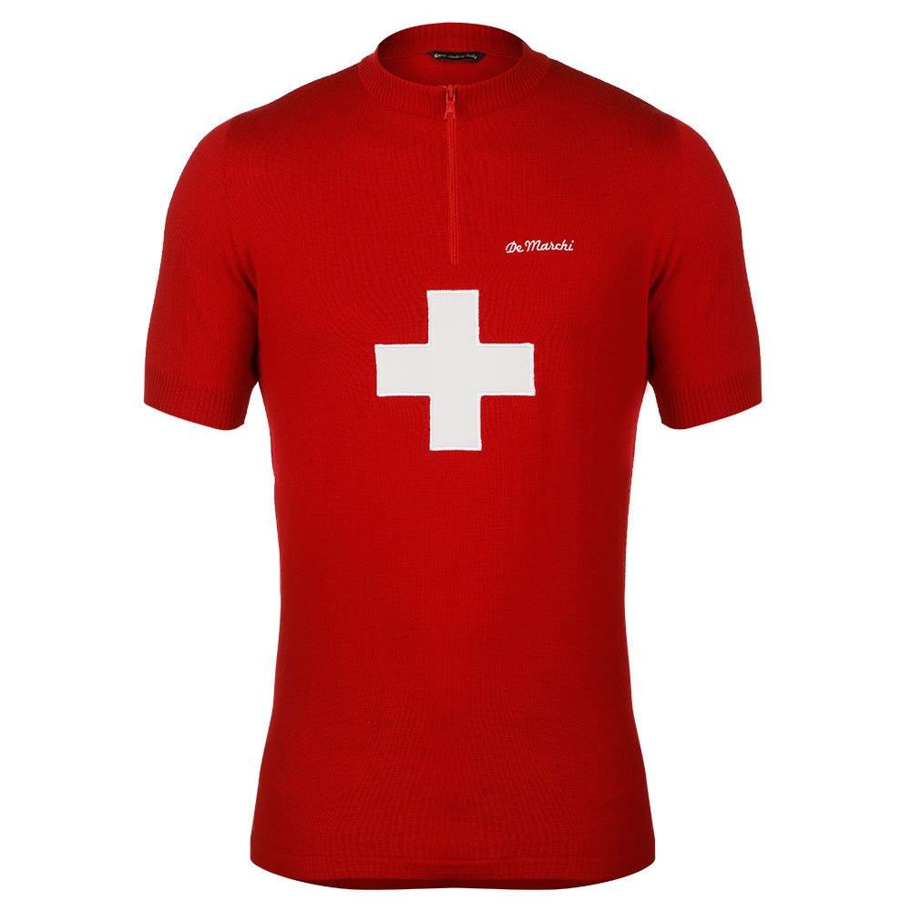 Suiza 1968 Maillot Retro Ciclismo