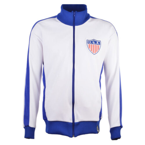 United States 1972 Retro Football Track Top