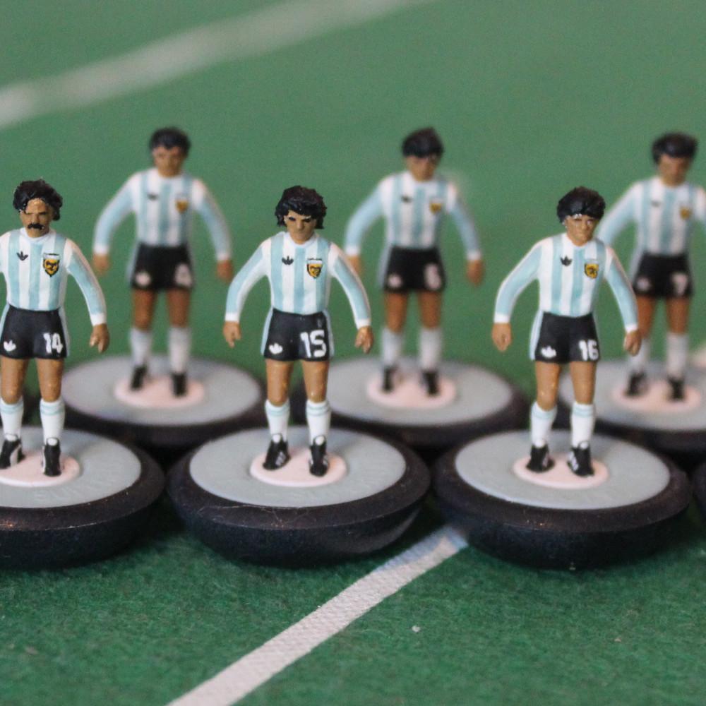 Argentina 1978 Equipo Subbuteo