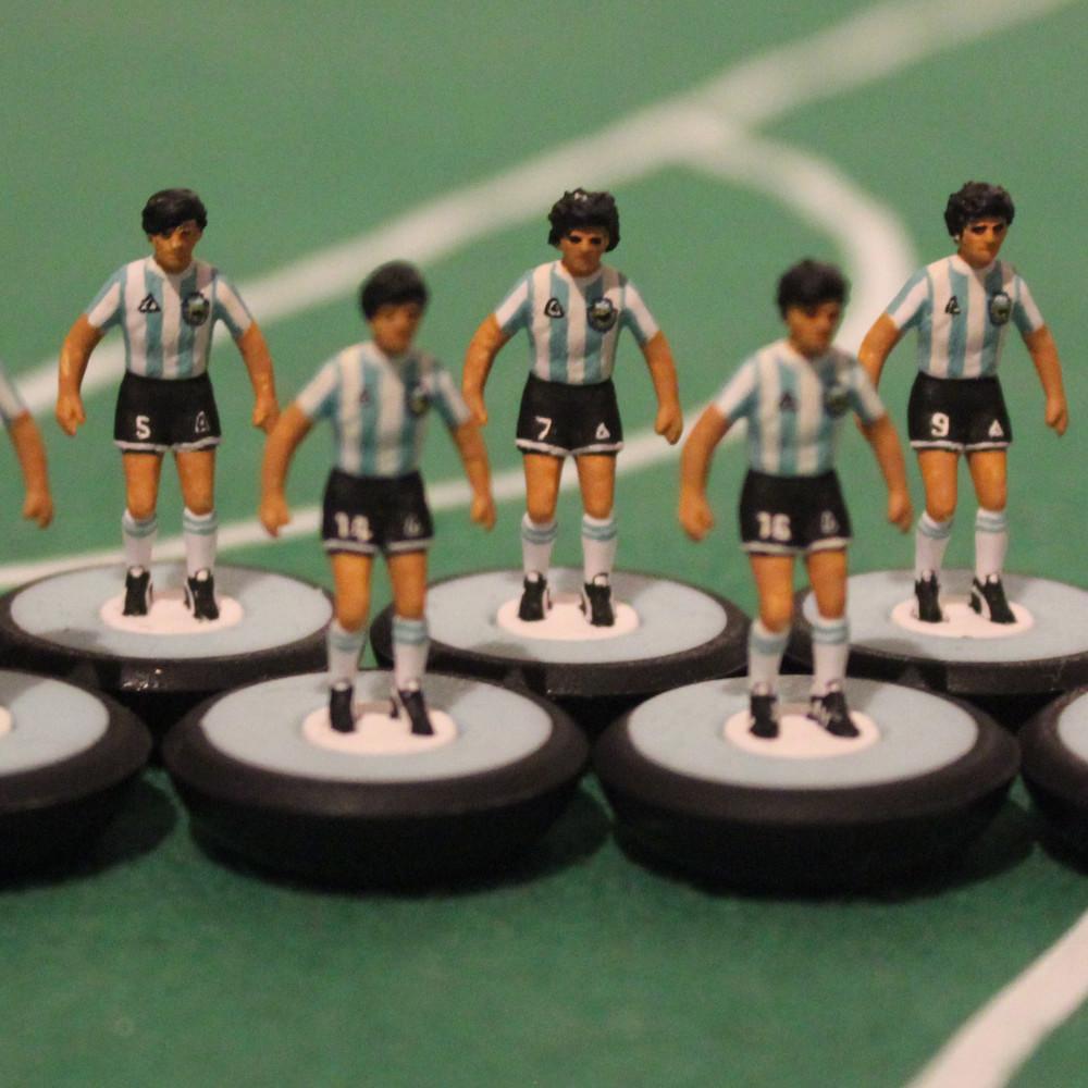 Argentina 1986 Equipo Subbuteo