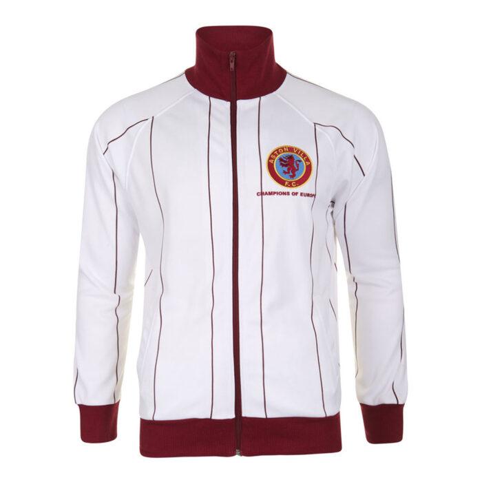 Aston Villa 1981-82 Giacca Calcio Storica
