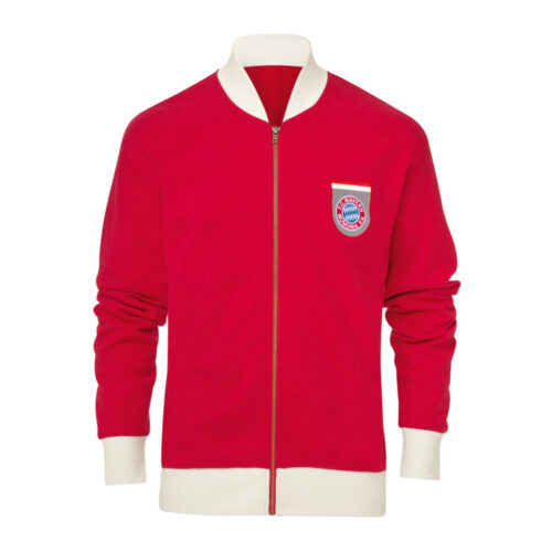 Bayern Munich 1972-73 Retro Football Track Top