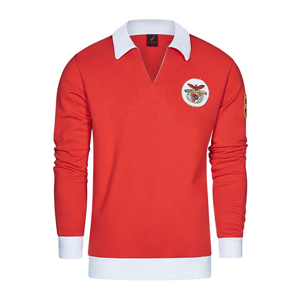 Benfica 1961-62 Felpa Storica Calcio