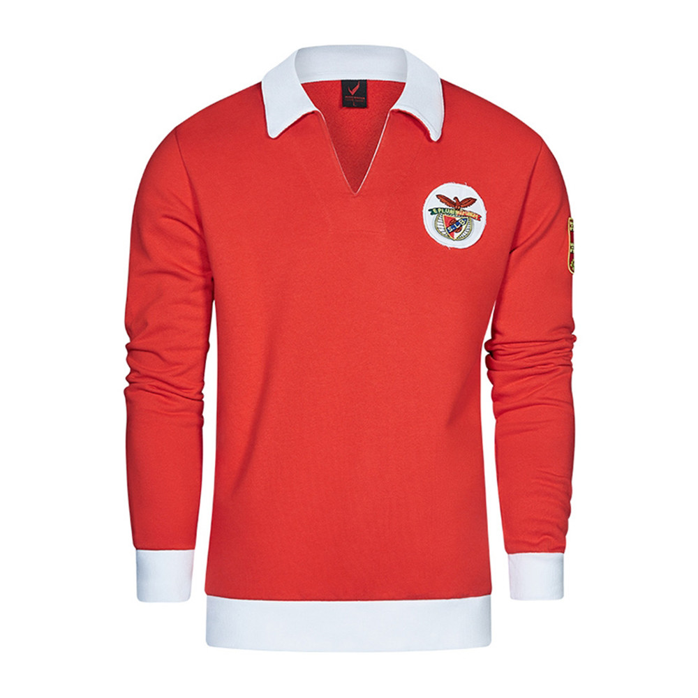 Benfica 1961-62 Sudadera Retro Fútbol