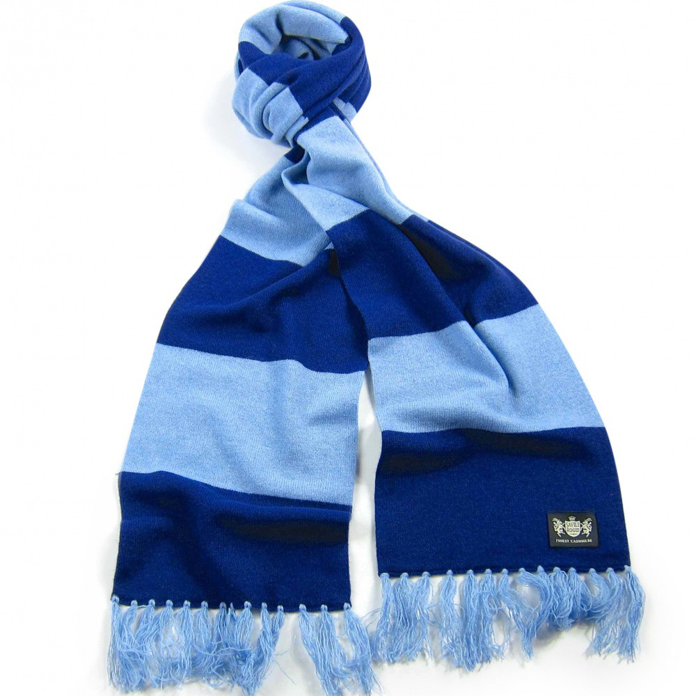 Blues Deluxe Cashmere Scarf