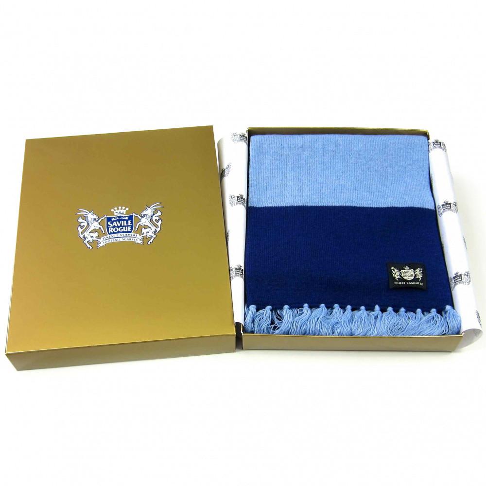 Sciarpa Cashmere Blu-Celeste Deluxe