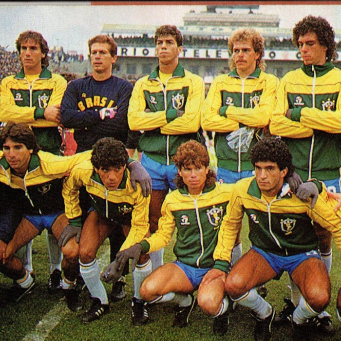 Brasile 1986 Giacca Storica Calcio