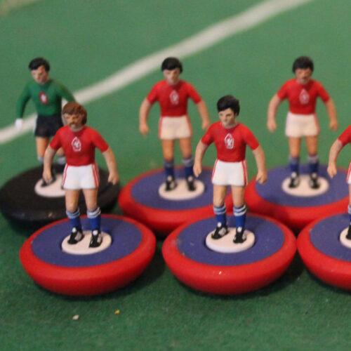 Cecoslovacchia 1976 Squadra Subbuteo